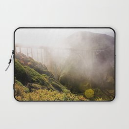 Foggy Day in the Bay Laptop Sleeve