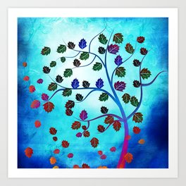 tree of life v Art Print