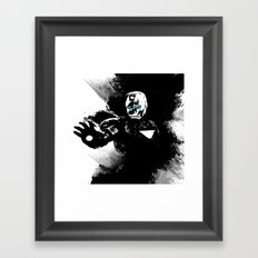 Iron Man: Shadow Edition  Framed Art Print