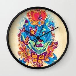 The Siberian Monarch Wall Clock