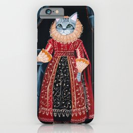 Lady Tabby Siverly iPhone Case