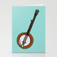 banjo Stationery Cards featuring Banjo by Illustrated by Jenny