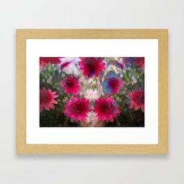 flowers abstract Framed Art Print