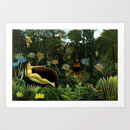 Henri Rousseau The Dream Art Print
