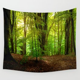 Summer Forest Wall Tapestry