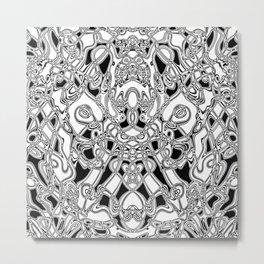 Digital elk Metal Print