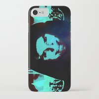 scary iPhone & iPod Cases featuring Scary Man by Jussi Lovewell