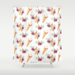 Hawaiian Dream Ice Cream Shower Curtain