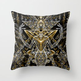Power Code Throw Pillow