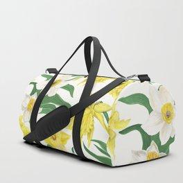 daffodil flowers Duffle Bag