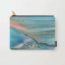 Pearl marble abstraction Carry-All Pouch