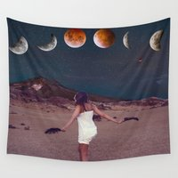 planets Wall Tapestries featuring Planets by Cs025