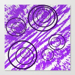 Spin Me in Circles Canvas Print