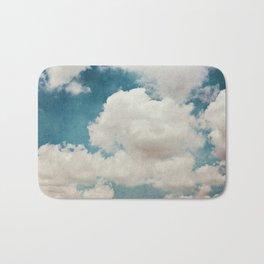 January Clouds Bath Mat