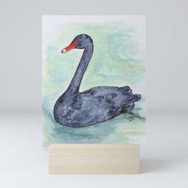 Black Swan Mini Art Print