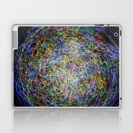 Ball of String Light painting Laptop & iPad Skin