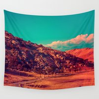 acid Wall Tapestries featuring Slow Acid. by Polishpattern