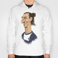 zlatan Hoodies featuring Ibrahimovic - PSG by Sant Toscanni