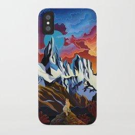 Moon Dog iPhone Case