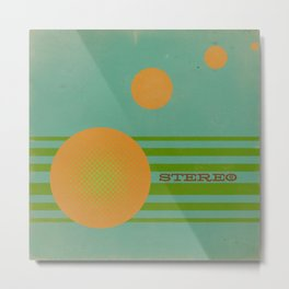 Stereolab (ANALOG zine) Metal Print