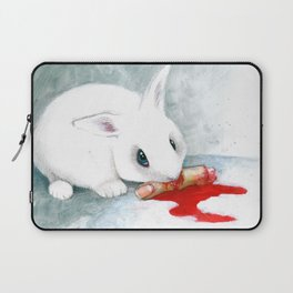 can i finish? Laptop Sleeve
