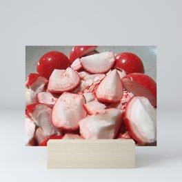 Shattered Fireballs Mini Art Print