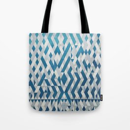 Tile Pattern Tote Bag