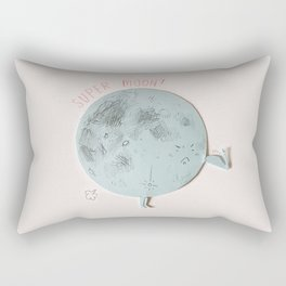 Super Moon Rectangular Pillow