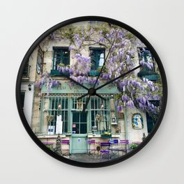 Au Vieux Paris Wall Clock