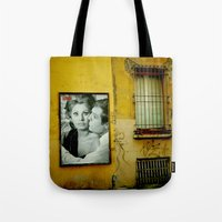 italy Tote Bags featuring italy by sustici