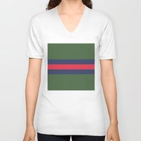 gucci V-neck T-shirts featuring Remember Classic Gucci by MW. [by Mathius Wilder]