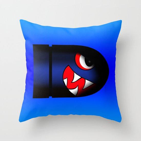 boss bullet (cool) Throw Pillow