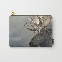 Eerik the Sami Shaman and Hirvi the Moose Carry-All Pouch