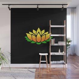 Yellow Lotus Wall Mural