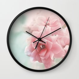 Rose flower photo photography Wall Clock