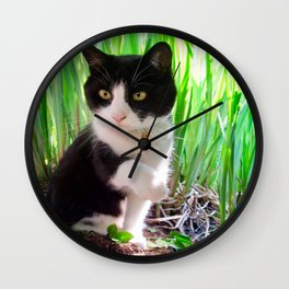 Orazio and the princess frog Wall Clock