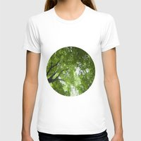 jewish T-shirts featuring Leaves and Lace by Brown Eyed Lady