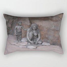 Neanderthal Story Rectangular Pillow