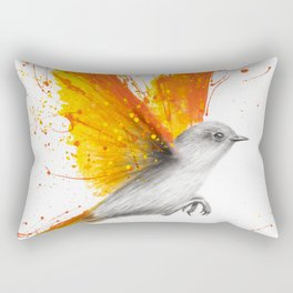 Citrus Season Bird Rectangular Pillow