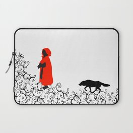 Little Red - White Laptop Sleeve