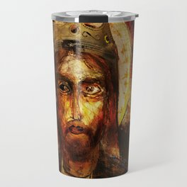 A Portrait of Christ Travel Mug