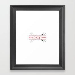 2B or not 2B Framed Art Print