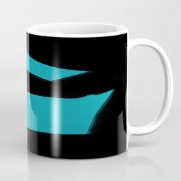 Abstract blueblack Coffee Mug