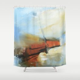 Les Mar Shower Curtain