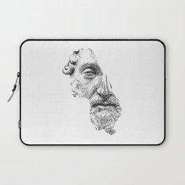 MARCUS AURELIUS ANTONINUS AUGUSTUS / black / white Laptop Sleeve
