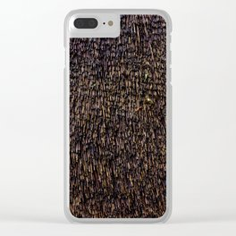 Wet Thatch Clear iPhone Case