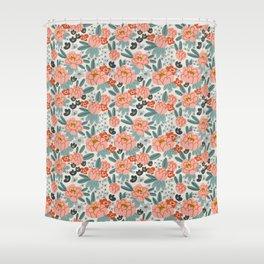 Spring peonies Shower Curtain