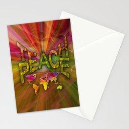 Teach Peace Stationery Cards