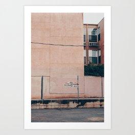 no skateboarding Art Print
