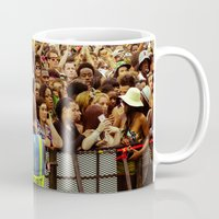 concert Mugs featuring Concert Crowd by ThatRaulSanchez